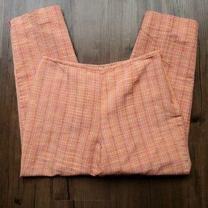 Talbots Silk Plaid Dress Pants